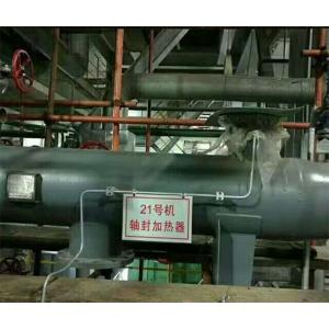 电厂轴封加热器清洗现场